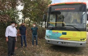 EBA Mobil Destek Aracı Hendek'te 57 Öğrenciyle Buluştu
