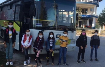 EBA Otobüsü Dernekkırı Köylerini Gezdi