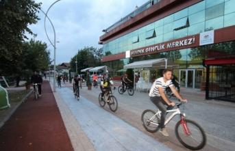 Gençler, Azerbaycan'a Destek İçin Pedal Çevirdiler