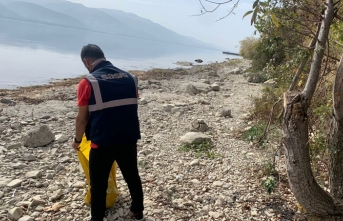 Sapanca Gölü'nün etrafı temizlendi