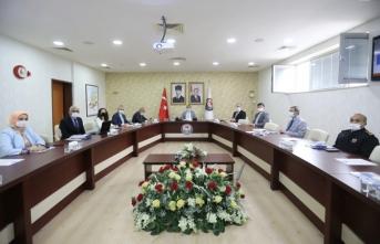 Vali Çetin Oktay Kaldırım'dan Yüz Yüze Eğitim Toplantısı