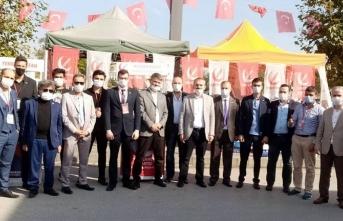 Yeniden Refah Partisi'nden Esnaflara Ziyaret