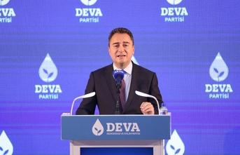 Babacan: 'Mafya, siyaseti dizayn ederken Cumhurbaşkanı ittifak derdinde'