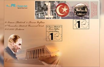PTT AŞ'den 10 Kasım ATATÜRK'ü  Anma Günü İçin Özelgün Zarfı