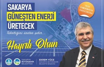 Güneşten enerji üretilecek projede çalışmalar başlıyor