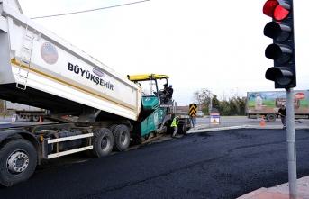 Kumköy ve Kovan Sokakta asfalt çalışmaları başladı