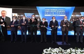 Kuzey Marmara Otoyolu ülkemize ve milletimize hayırlı olsun