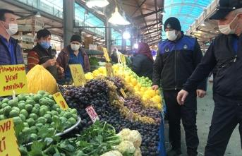 Sapanca'da Yılbaşı Öncesi Çarşı Pazar Denetimi