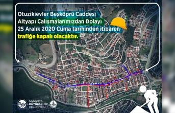 Serdivan'da güçlü altyapı için çalışmalar sürüyor