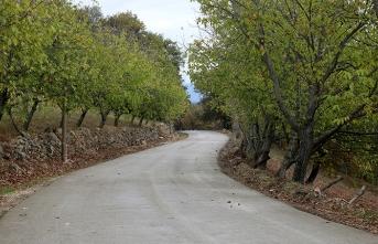37 kilometrelik beton yol çalışmaları tamamlandı