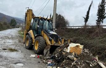 Sapanca'da Moloz Atıkları Ortadan Kaldırılıyor