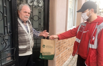 Serdivan Kemalpaşa'ya bin 250 adet hijyen paketi