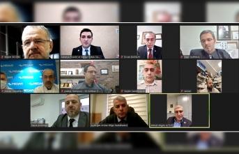 15. Meslek Komitesi Meslek Grubu Üyeleri ile bir araya geldi