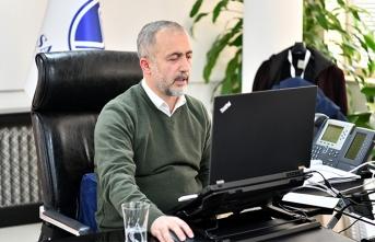 Rektör Savaşan SAÜ'nün Uzaktan Eğitim Deneyimlerini Anlattı