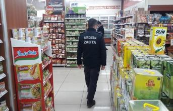 Serdivan'da Koronavirüs Denetimi