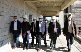 Yeni MYO binasında kaba inşaat tamamlandı