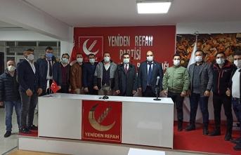 Deva Partisi Adapazari ilçe başkanliğindan ziyaret