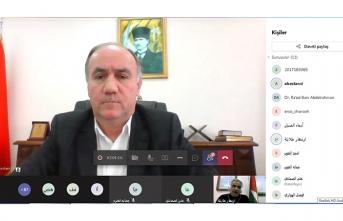 Prof. Dr. Bostancı Ürdün'de Düzenlenen Sempozyumda Sakarya Üniversitesini Anlattı
