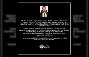 Sakarya Barosu'ndan eylem: Avukatlar duruşmalara girmedi