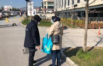 Serdivan'da Dilencilere Operasyon