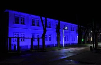 Başkan babaoğlu'dan mavi ışık kampanyasına destek