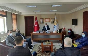MHP İl Başkanı Ferid Şekerli'den Nezaket Ziyareti