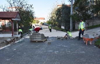 Erenler'de cadde ve sokaklar yenileniyor