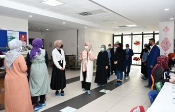 Fazilet Durmuş'tan Okul Ziyareti