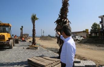Meydan düzenleme projesinde çalışmalar sürüyor