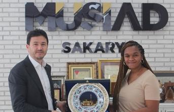 Müsiad Kamerunlu Heyeti Ağırladı