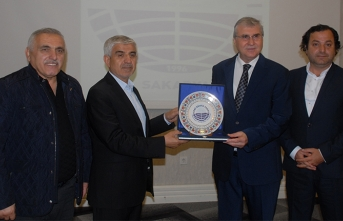 Yeni Dünya Vakfı; Genel Başkan Mahmut Göksu'yu ağırladı