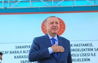 Cumhurbaşkanı Erdoğan Sakarya'ya müjdeler verdi