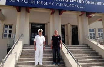 Denizcilik MYO'ya ekipman ve malzeme desteği