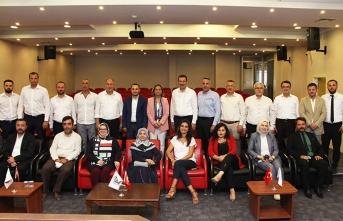 Yavuz'dan Baro Başkanı Yıldız'a ziyaret