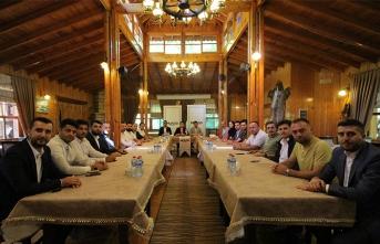 (MÜSİAD) Sakarya Şubesi Akyazı ilçesinde faaliyet gösteren üyelerini bir araya getirdi