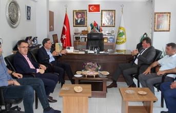 Zenbilci'den Başkan Gündoğdu'ya ziyaret