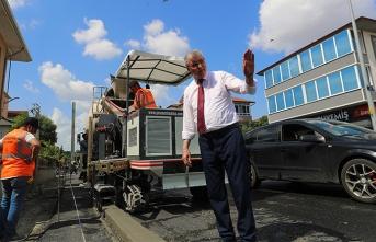 Büyükşehir, asfaltta '1 milyon tonla' rekor seviyeye ulaştı