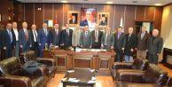 Adaylardan Karasu Belediyesi'ne Ziyaret