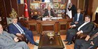 Ali İnci Karasu Belediye Başkanı İspiroğlu'nu Ziyaret Etti