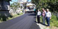 Altyapısı tamamlanan cadde ve sokaklar asfaltlanıyor
