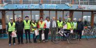 Hollandalı Bisikletçiler Karasu'da