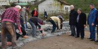 Karasu belediyesi Kilitli Parke çalışmalarına Hız verdi