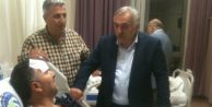 Milletvekili İnci Kaza Yapan Başkanı Ziyaret Etti