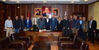 Ziraat Odaları Başkanları İspiroğlu'nu Ziyarette Bulundular