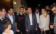 Mehdi Eker ile görüştüler