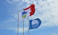 Karasu Plajına Mavi Bayrak Çekildi