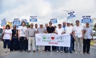 Karasu'da Sağlık İçin Hareket Et Yürüyüşü Düzenlendi