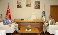 Pınarbaşı'ndan Toçoğlu'na veda ziyareti