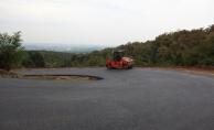 Güzlek Mahallesi'nde asfalt tamam