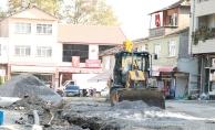 Karapürçek kanalizasyon hattı tamamlanıyor